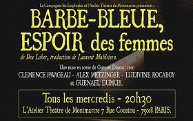 «Barbe-bleue, espoir des femmes» – jusqu'au 29 juin