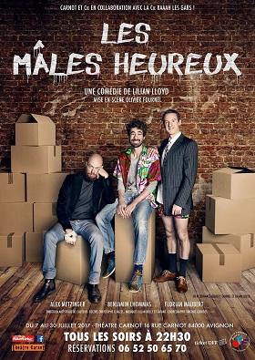«Les mâles heureux» – les 13, 15 et 16 février à Paris